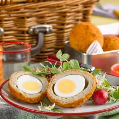 Wall's Pastry Scotch Egg Picnic Spring Activities