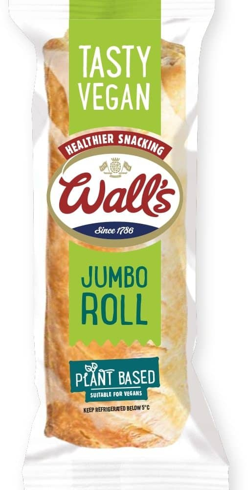 Wall's Pastry Vegan Jumbo Roll