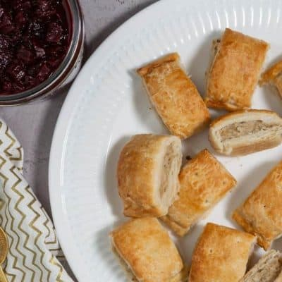 Wall's Pastry Snack Sausage Rolls