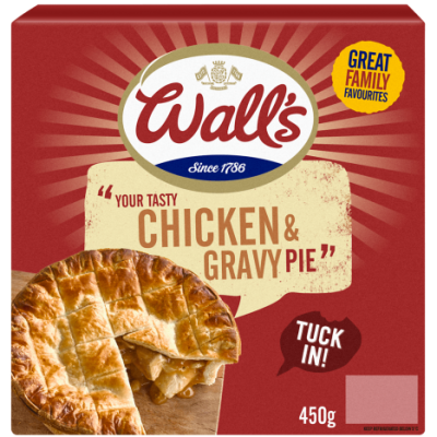 Chicken & Gravy Pie