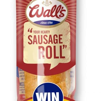 Wall's Pastry SportsAid promotion Jumbo Sausage Roll
